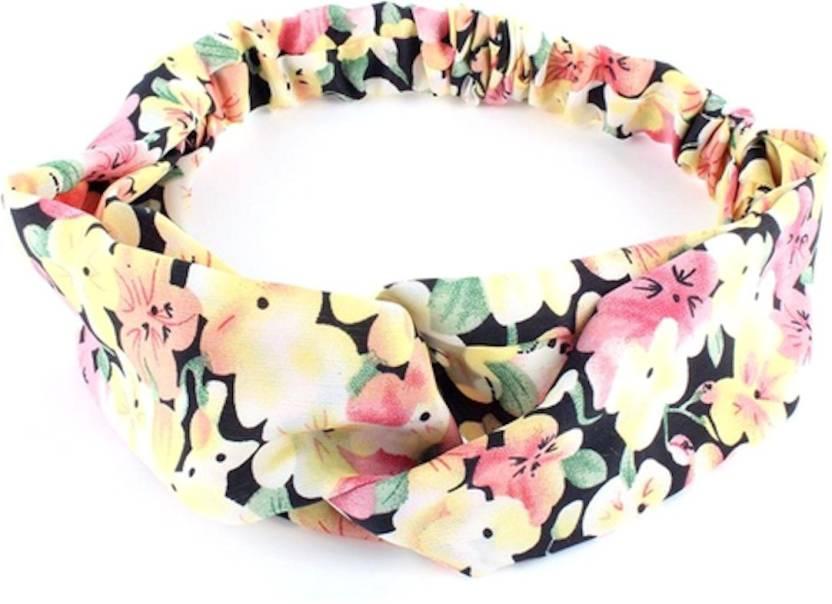 BLINGG Floral Magic Twist-Knot Head Wrap Headband Head Band Price in ... 09952ab4557