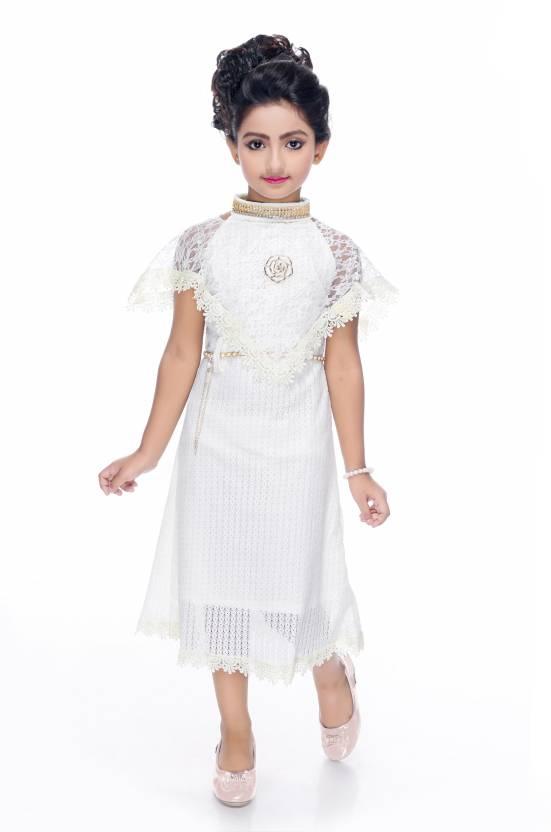 Beekay Girls Midiknee Length Party Dress Price In India Buy
