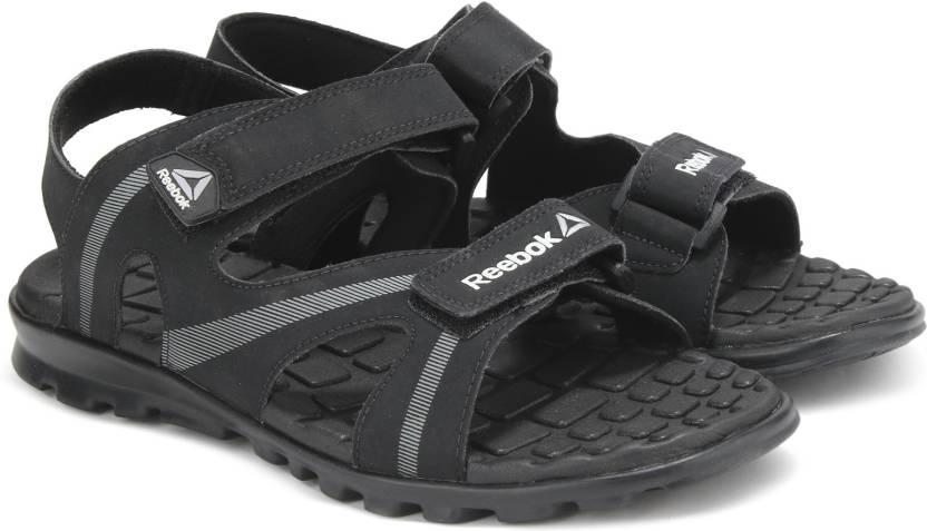 e367f4f5b REEBOK Men BLACK GREY METSIL WHT GRY Sports Sandals - Buy  BLACK GREY METSIL WHT GRY Color REEBOK Men BLACK GREY METSIL WHT GRY Sports  Sandals Online at Best ...