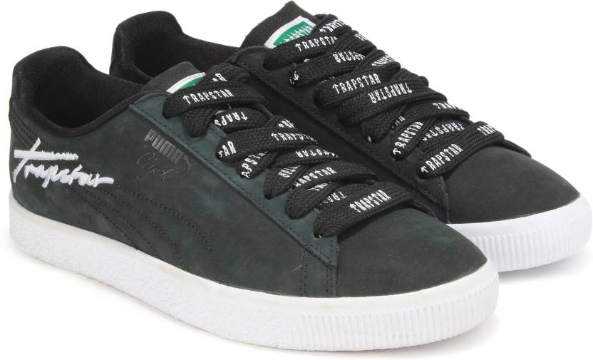 Puma X TRAPSTAR CLYDE BOLD Sneakers For Men - Buy Puma Black Color ... 8513ace23