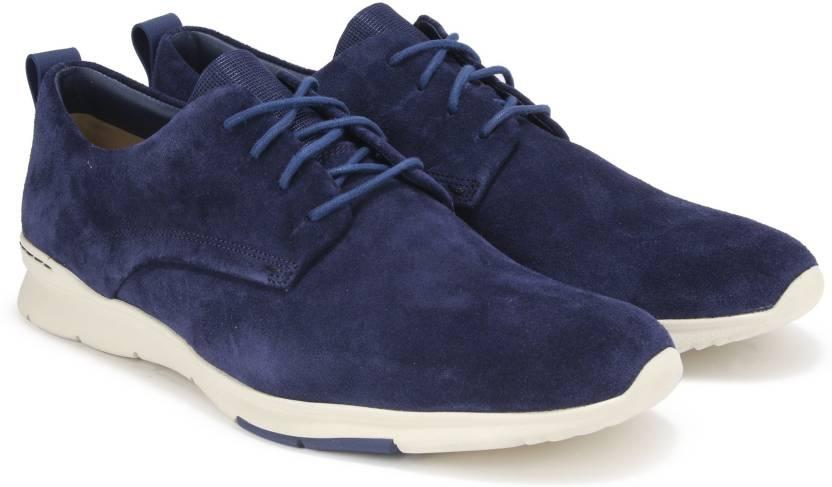 c2674105ed39e Clarks Tynamo Walk Blue Suede Casual For Men - Buy Blue Color Clarks ...