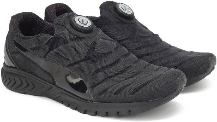 Puma IGNITE DUAL DISC DIP Running Shoes For Men - Buy Puma Black ... eca8ee639