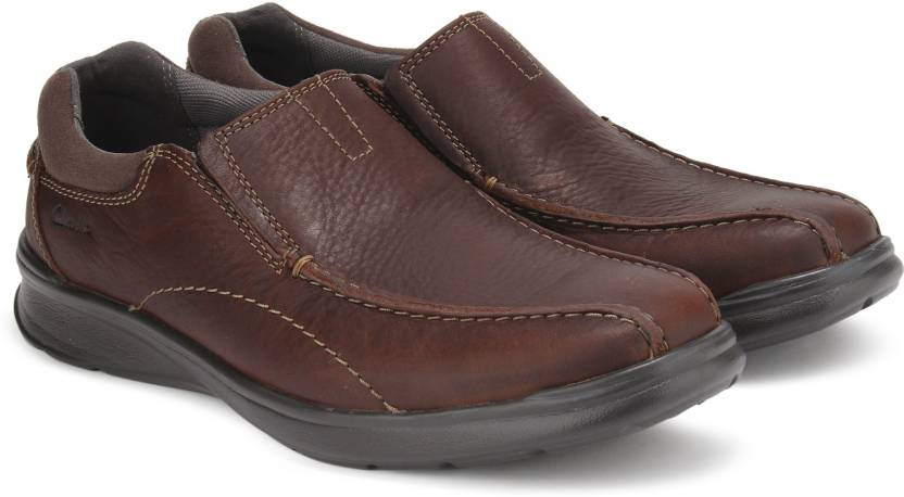 8b497a71d72 Clarks Cotrell Step Brown Oily Casual For Men - Buy Brown Color ...