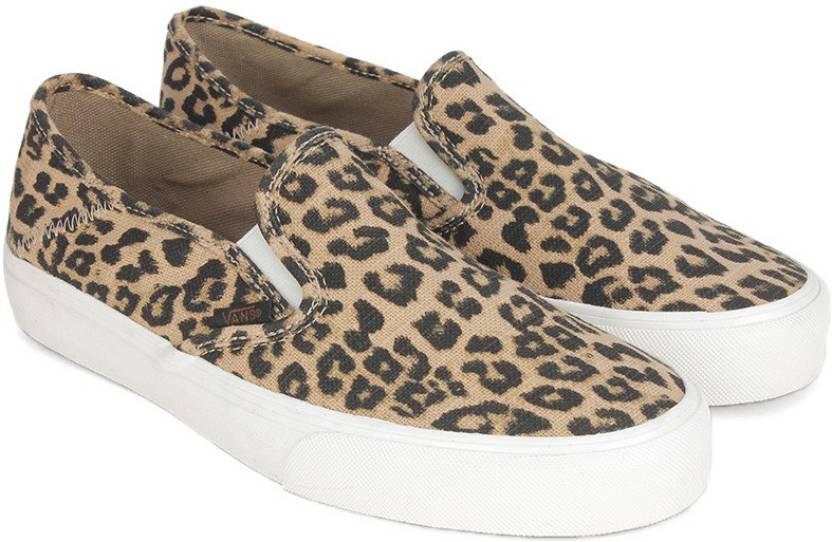 Vans SLIP-ON SF Slip on Sneakers For Women - Buy Brown Color Vans ... cff1467ad4