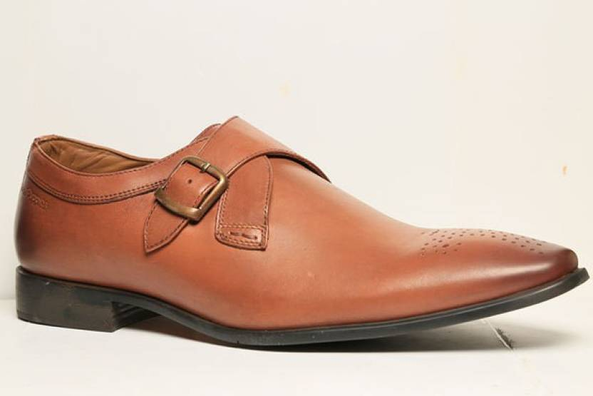 48a6c0b8a72 Hush Puppies By Bata NEW FRED MONK Monk Strap For Men - Buy Brown ...