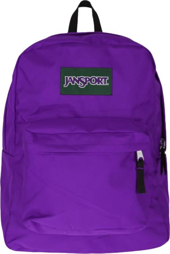 cheap for discount e2a0b 207f9 JanSport Superbreak Backpack 31D SIGNATURE PURPLE - Price in India    Flipkart.com
