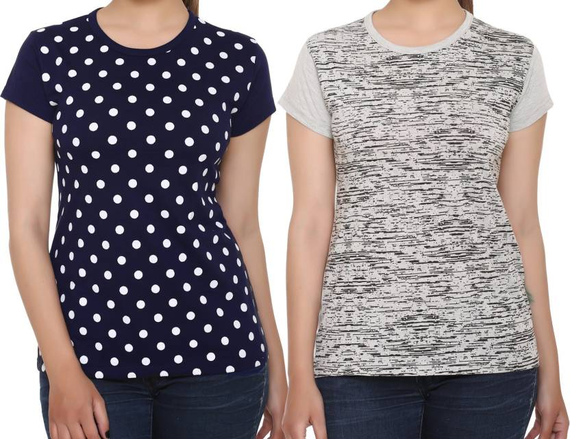 a30c22d467b 69GAL Girls Printed Cotton T Shirt