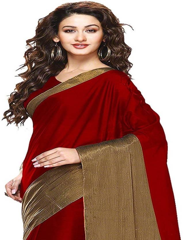 GANGA SHREE Self Design Banarasi Banarasi Silk Saree