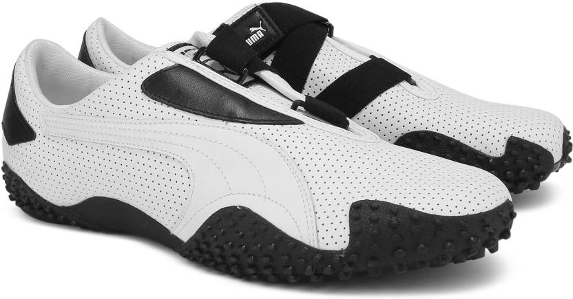 Puma MOSTRO PERF LEATHER Sneakers For Men - Buy white-black Color ... 388d45b9b