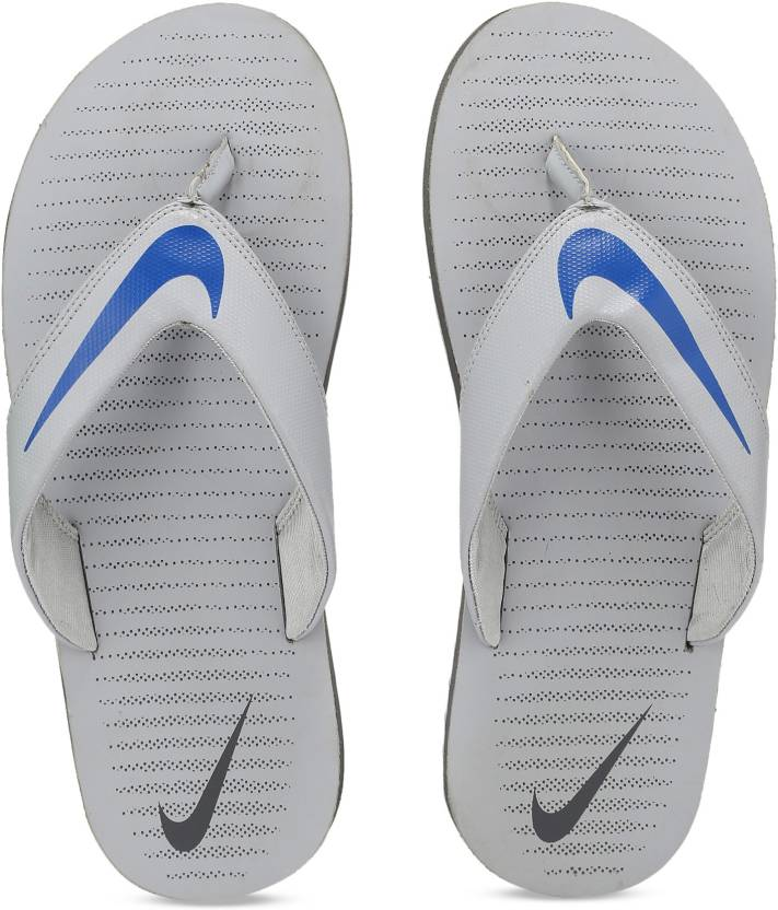 05181e381f8a Nike CHROMA THONG 5 Slippers - Buy WOLF GREY / HYPER COBALT - DARK GREY  Color Nike CHROMA THONG 5 Slippers Online at Best Price - Shop Online for  Footwears ...