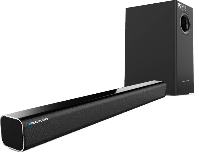 Blaupunkt SBW-01 Dolby Bluetooth Soundbar  (Black, Stereo Channel)