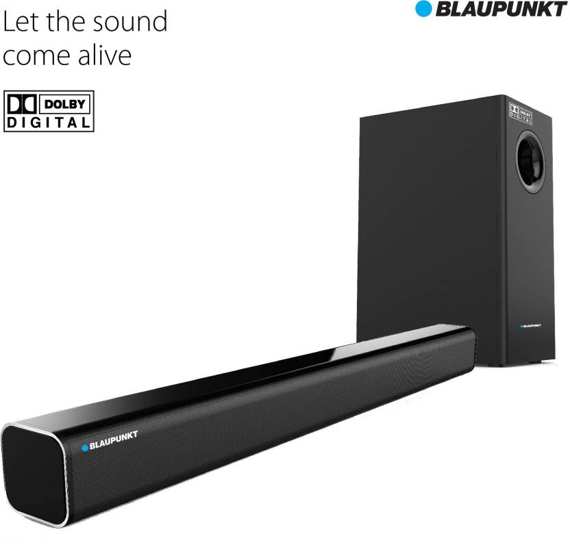 Blaupunkt SBW-01 Dolby Bluetooth Soundbar  (Black, Stereo Channel)-64% OFF