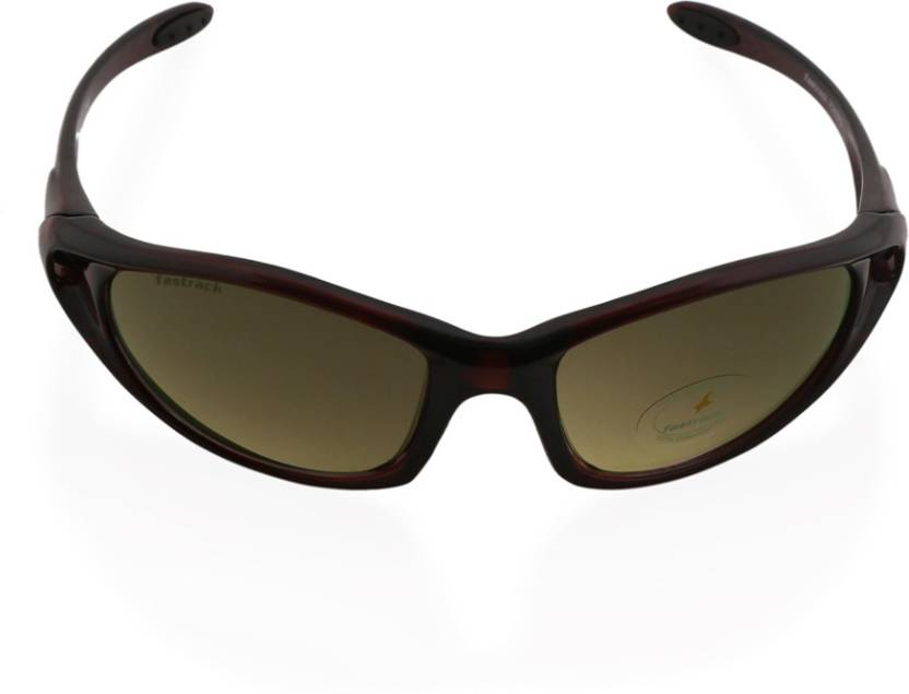 Buy Fastrack Sports Sunglasses Brown For Men Online   Best Prices in ... e851dad8acd5