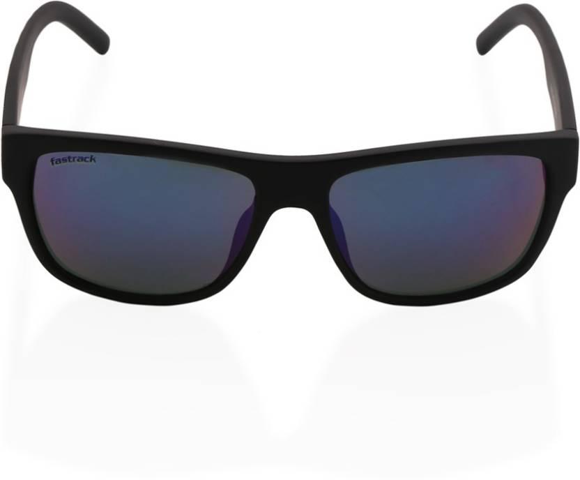 8113a78064 Buy Fastrack Rectangular Sunglasses Grey For Men Online   Best ...