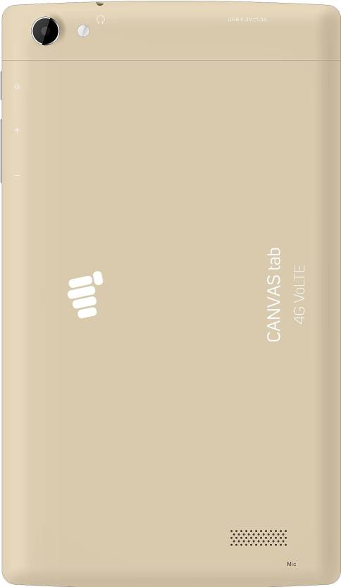Micromax Canvas Plex Tab 32 GB 8 inch with Wi-Fi+4G Tablet (Champagne Gold)