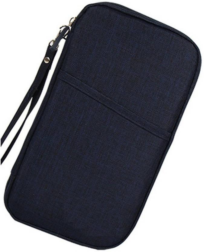 5ff6fd1b0d2 VibeX ® Journey Document Organizer Wallet Passport ID Card Holder Ticket  Credit Card Bag Case (Multicolor)