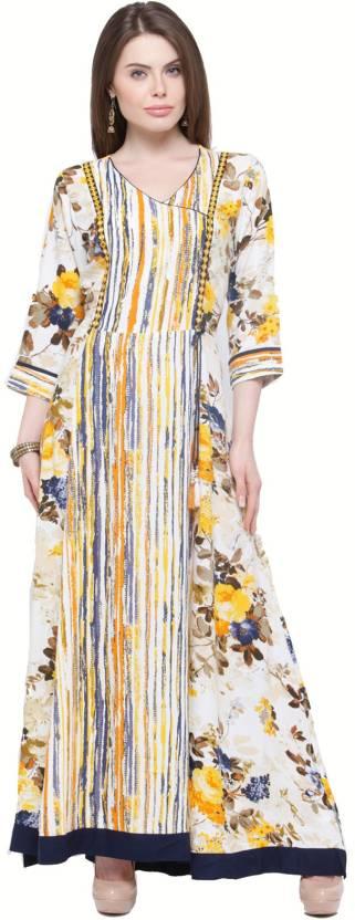 Shree Women's Maxi Multicolor Dress