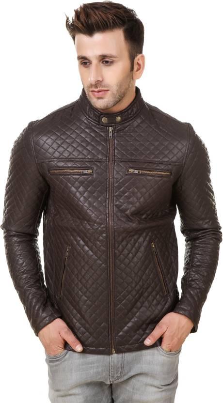 Rocker Fashions Full Sleeve Solid Men S Jacket Buy Chocolate Brown