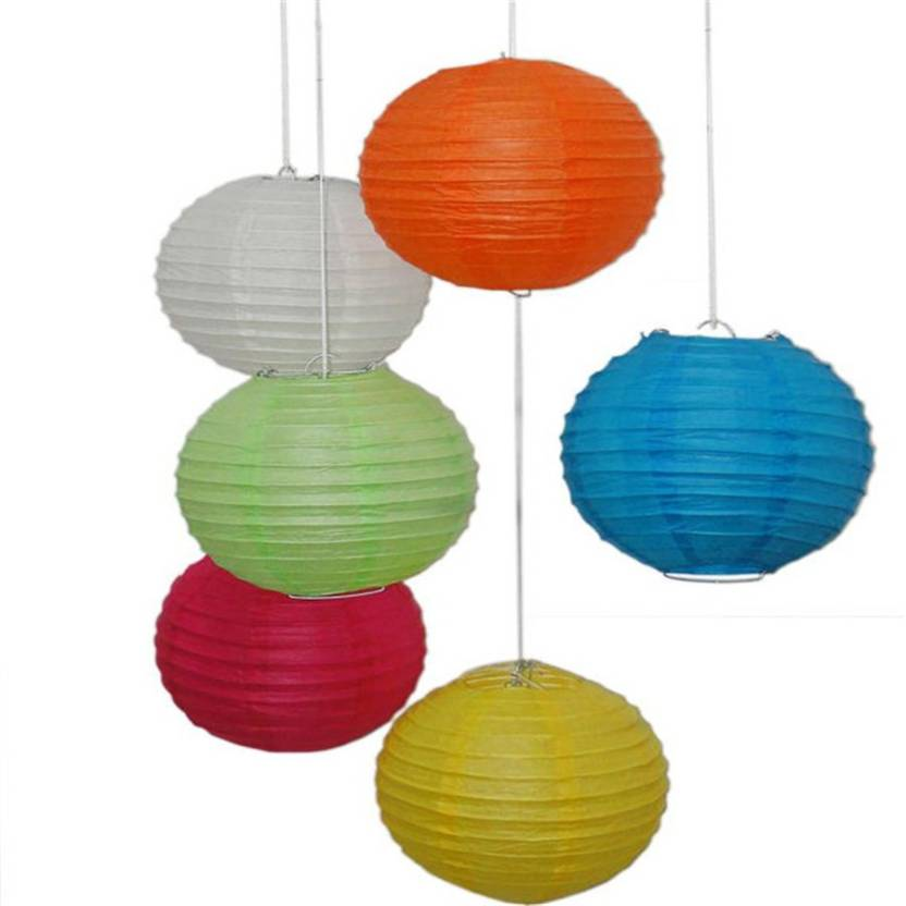 Sukot 10 Inch Home Garden Decor Paper Lantern Diwali Christmas Festival Ceremony Marriage Party Decoration