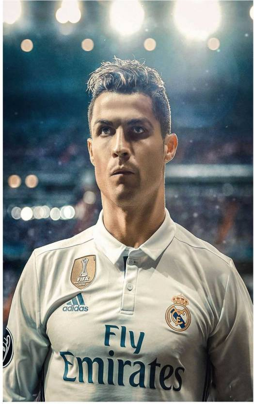 new arrival 1152f 0032a Cristiano Ronaldo Poster for room Paper Print - Sports ...
