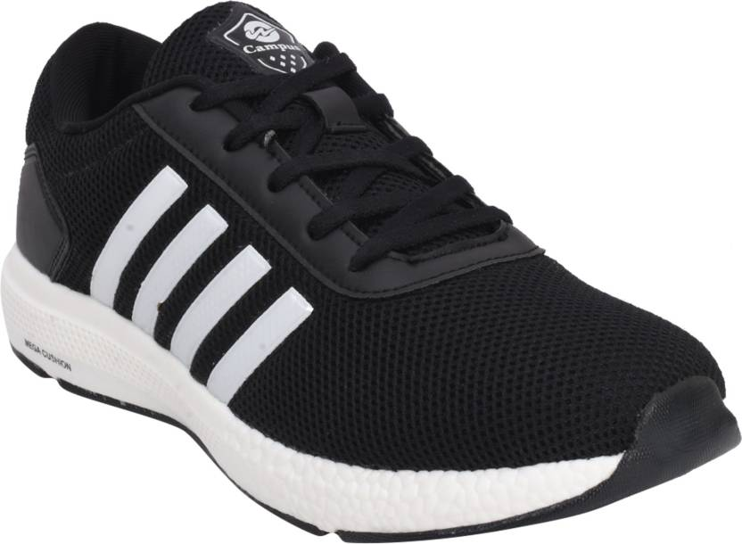 8605198f466b Campus BATTLE X-11 Running Shoes For Men - Buy Black-01 Color Campus ...