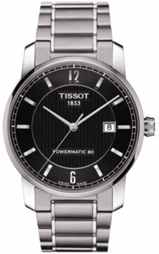 Tissot T087.407.44.057.00 T Classic Titanium Automatic Watch - For Men -  Buy Tissot T087.407.44.057.00 T Classic Titanium Automatic Watch - For Men  ... 90999d59ac30