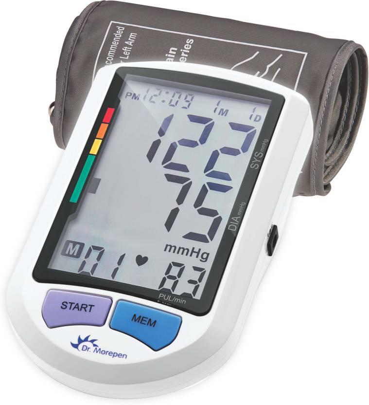Dr.Morepen BP-16 BPOne Bp Monitor  (White)