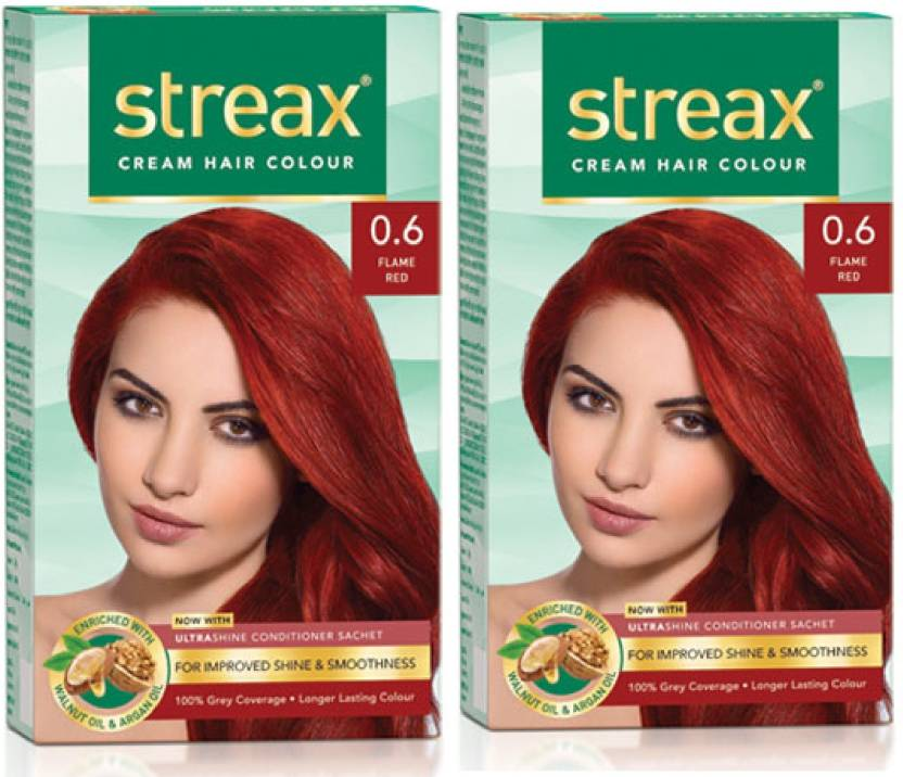 Streax Pack Of 2 Hair Color Price In India Buy Streax Pack Of 2
