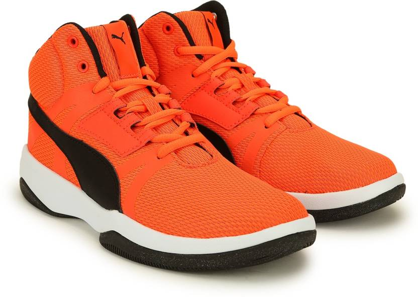 Puma Boys Lace Basketball Shoes Price In India Buy Puma Boys Lace