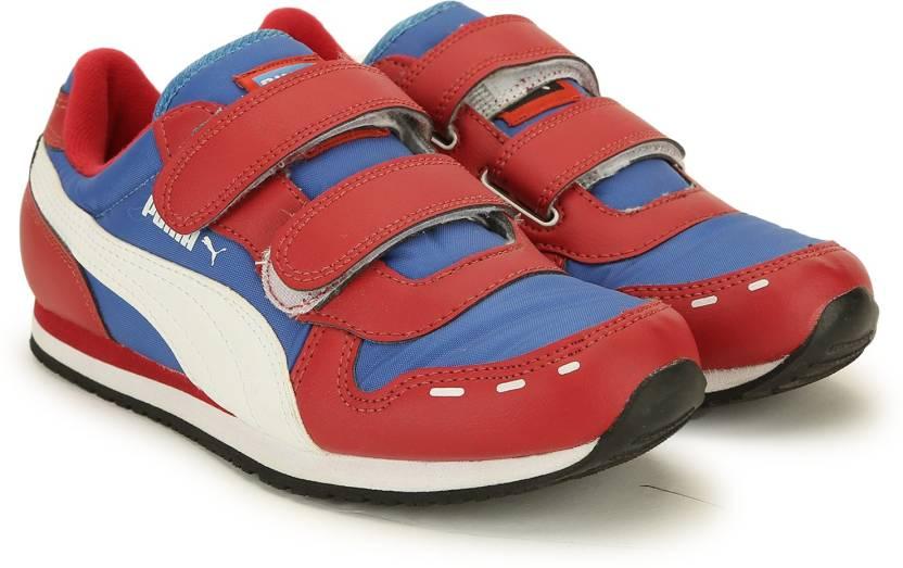 Puma Boys & Girls Velcro Sneakers