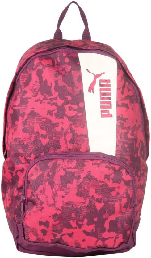 0819765d4c45 Puma Core Active 22 L Laptop Backpack Dark Purple Love Potion ...