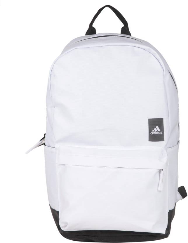 ADIDAS Classic 24 L Laptop Backpack White - Price in India ... 596b7c8650312