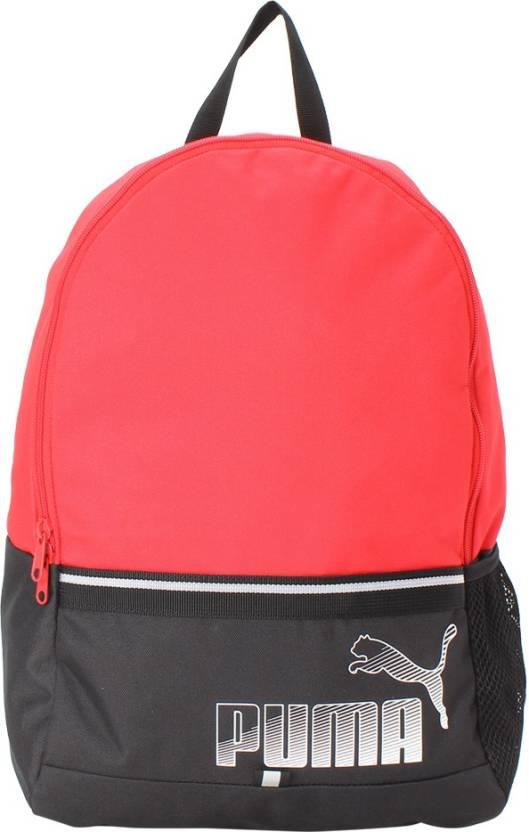 5e0be82b21d9 Puma Phase II 23 L Backpack Toreador-Puma black - Price in India ...