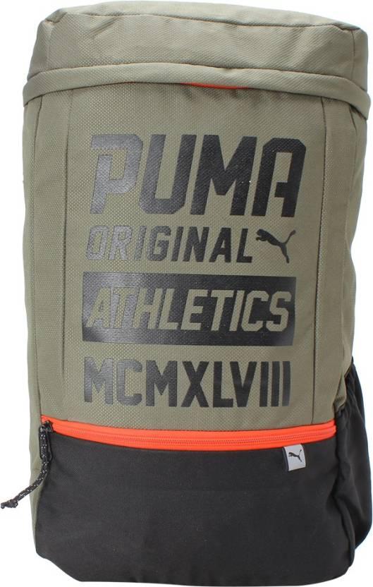 c67d36bc93 Puma Sole Plus 24 L Laptop Backpack Olive Night-Puma Black - Price ...