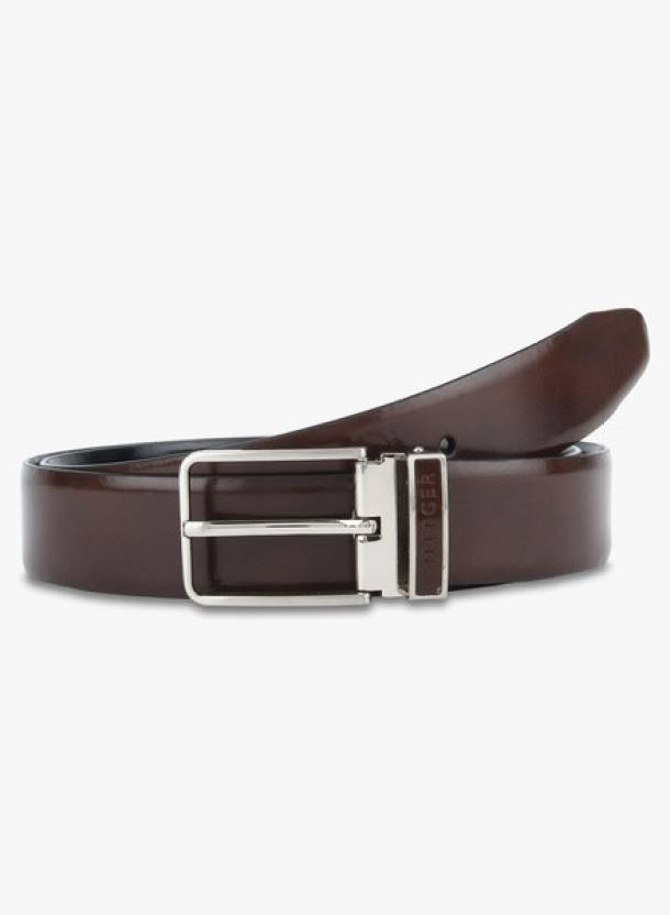 Painted Buckle Leather Belt - Sales Up to -50% Tommy Hilfiger xyGTN