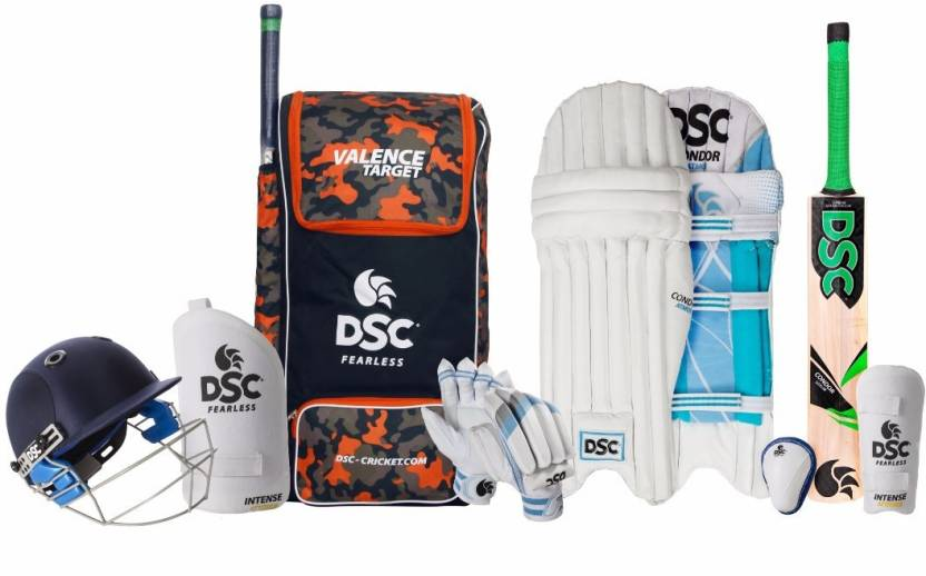 buy online ad5eb 716fc DSC DSC Premium Complete Kit with Helmet S-6 Cricket Kit - Buy DSC DSC  Premium Complete Kit with Helmet S-6 Cricket Kit Online at Best Prices in  India ...
