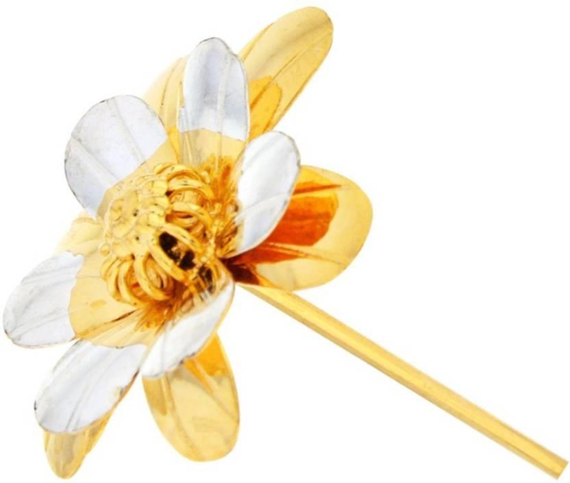 Jpearls diwali special golden silver flower silver pooja thali set jpearls diwali special golden silver flower silver pooja thali set mightylinksfo