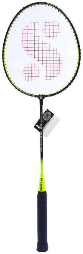 Silver's SB160 Multicolor Strung Badminton Racquet