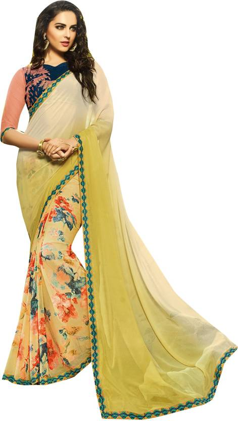 86d9abc7bc Buy Only Vimal Embellished Fashion Georgette Multicolor Sarees ...