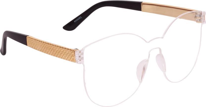 d2426134662 Buy Barbarik Wayfarer Sunglasses Clear For Men   Women Online   Best ...