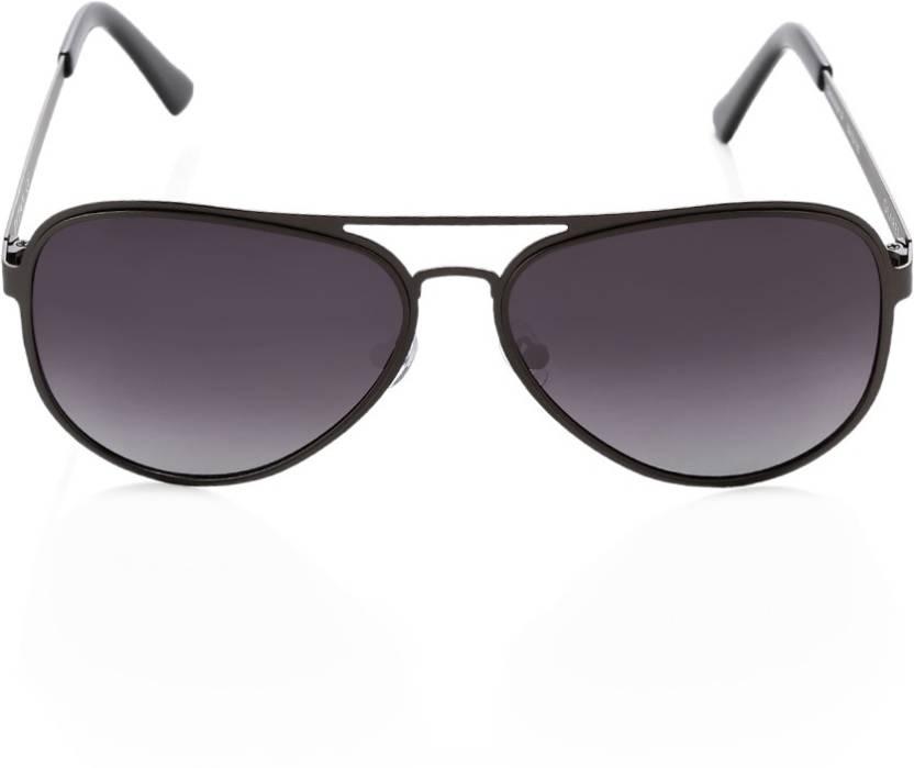 f6fb9715ecee Buy Titan Aviator Sunglasses Black For Men Online @ Best Prices in ...