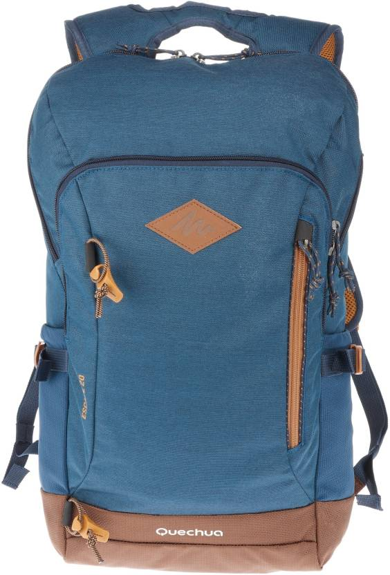e651b5bf0b78 Quechua by Decathlon Escape 20 L Backpack Blue - Price in India ...