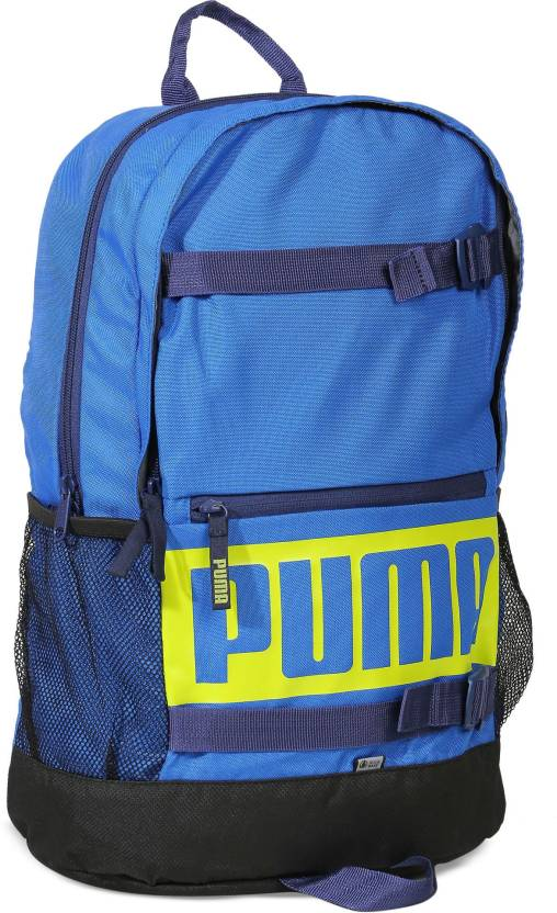 d95e309f1d5 Puma Deck 24 L Laptop Backpack Lapis Blue - Price in India ...