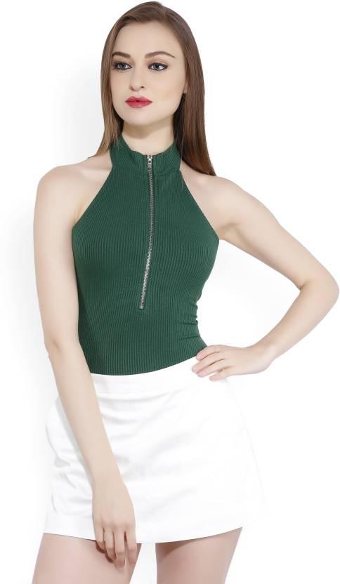 Forever 21 Women s Green Bodysuit - Buy HUNTER GREEN Forever 21 Women s  Green Bodysuit Online at Best Prices in India  050169041