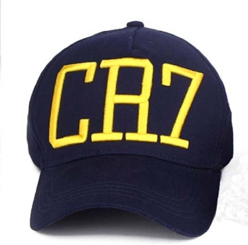 FAS CR7 Navy Blue Baseball Cap - Buy FAS CR7 Navy Blue Baseball Cap Online  at Best Prices in India  2659046c26a