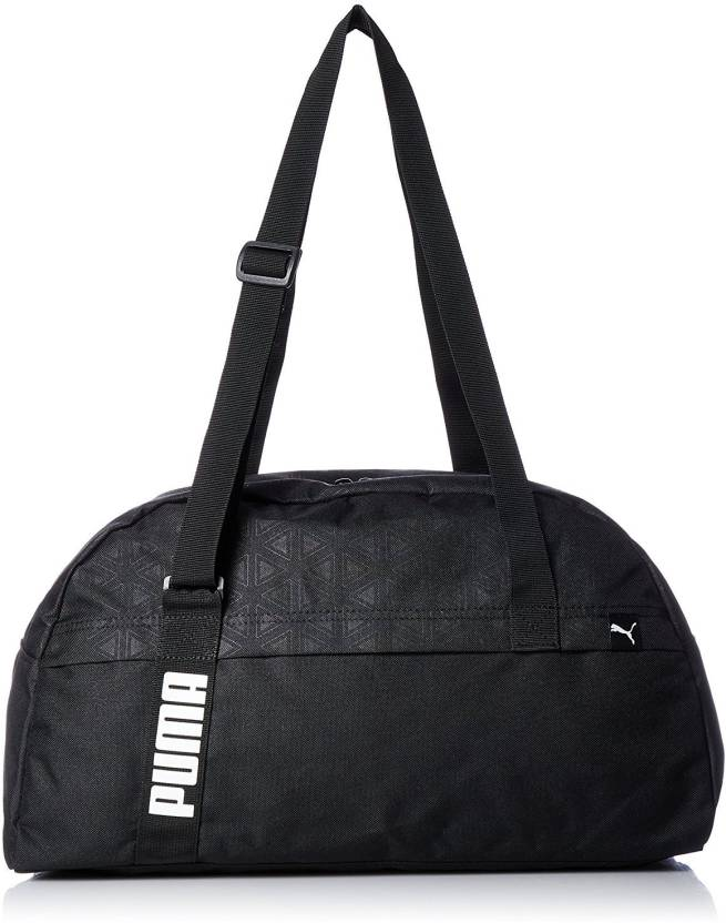 Puma Core Active Sportsbag M Gym Bag Puma Black-graphic - Price in ... e1c898c1e1c29