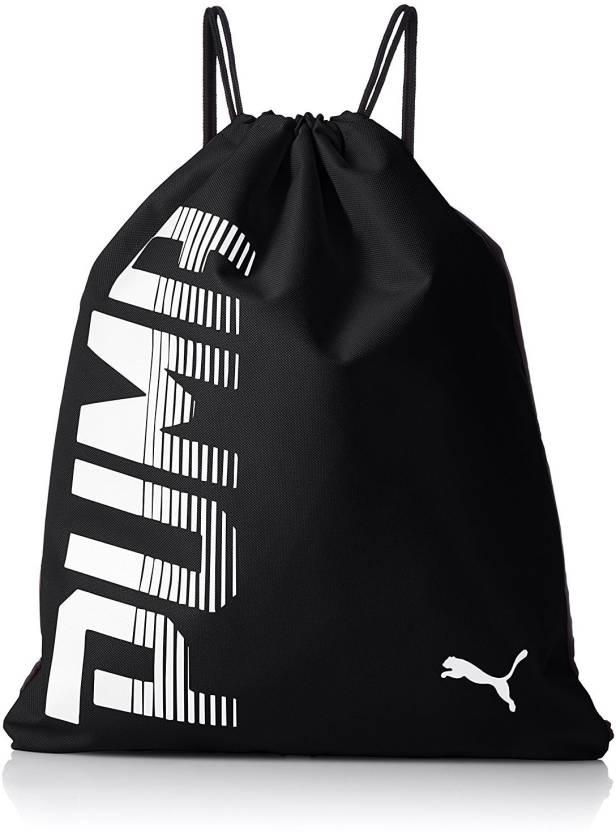 c61f08c9e827 Puma PUMA Pioneer Gym Sack Gym Bag Puma Black - Price in India ...