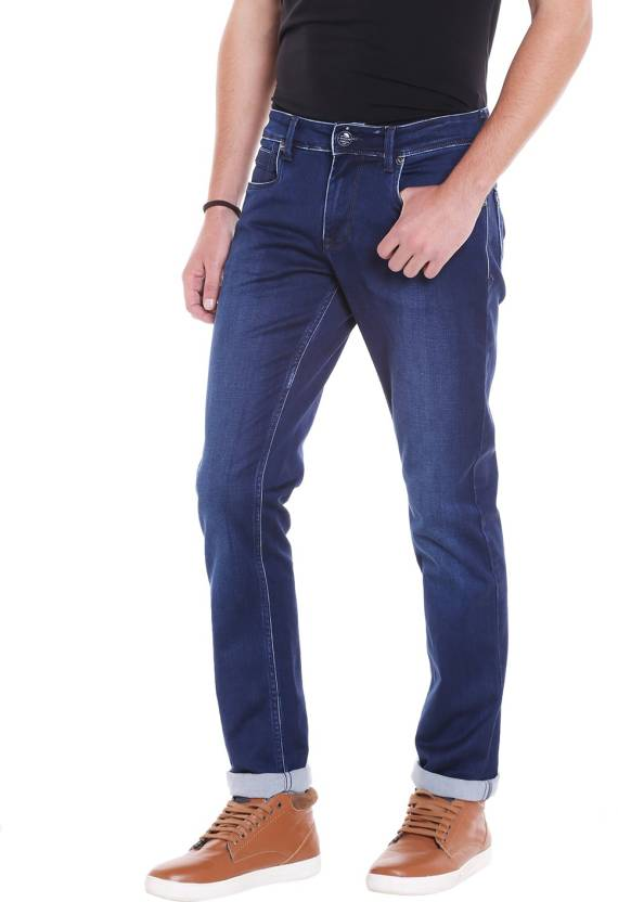 a1b331a6 LAWMAN PG3 Slim Men's Blue Jeans - Buy Blue LAWMAN PG3 Slim Men's Blue Jeans  Online at Best Prices in India | Flipkart.com