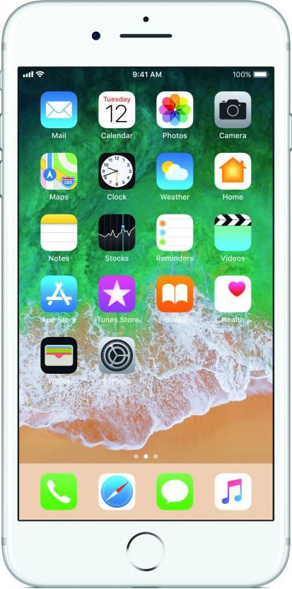 Apple iPhone 7 Plus (Silver, 256 GB)