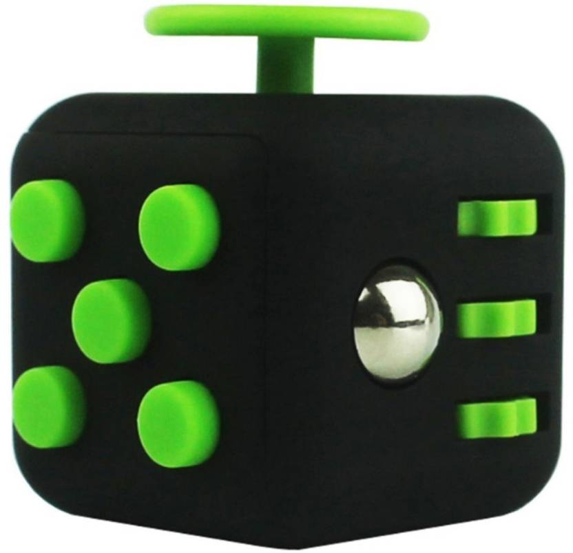 ILU Fidget Cube Relives Anxiety Stress::Calming Toy for